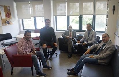 Schwlar meeting with Istanbul Sehir University