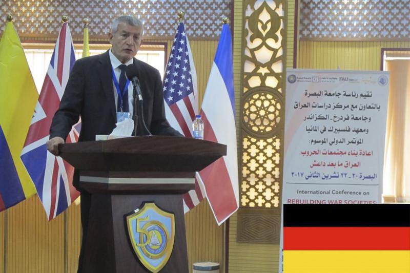 Professor Şefik Alp Bahadir – German