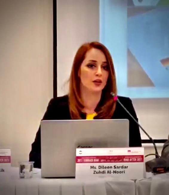 Mrs. Dileen Sardar Alnoori – Consultant
