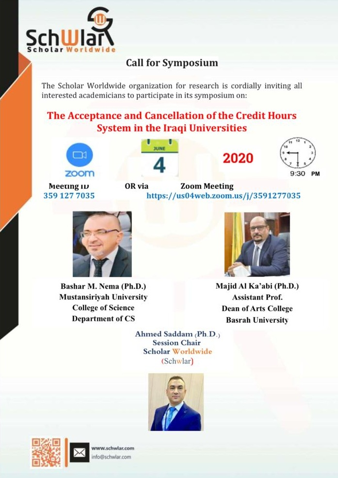 The Acceptance and Cancellation of the Credit Hours System in the Iraqi Universities