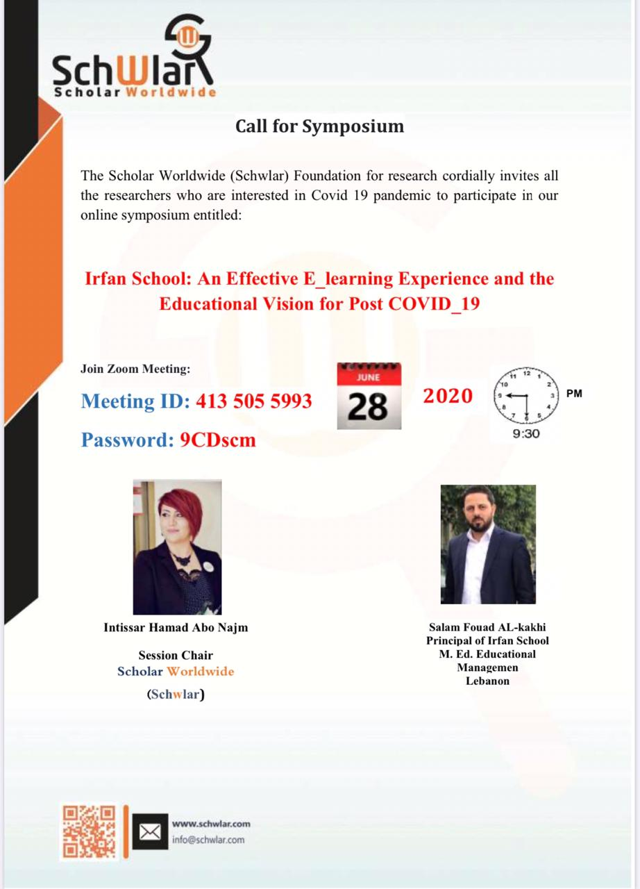 Irfan School: An Effective E_learning Experience and the Educational Vision for Post COVID_19