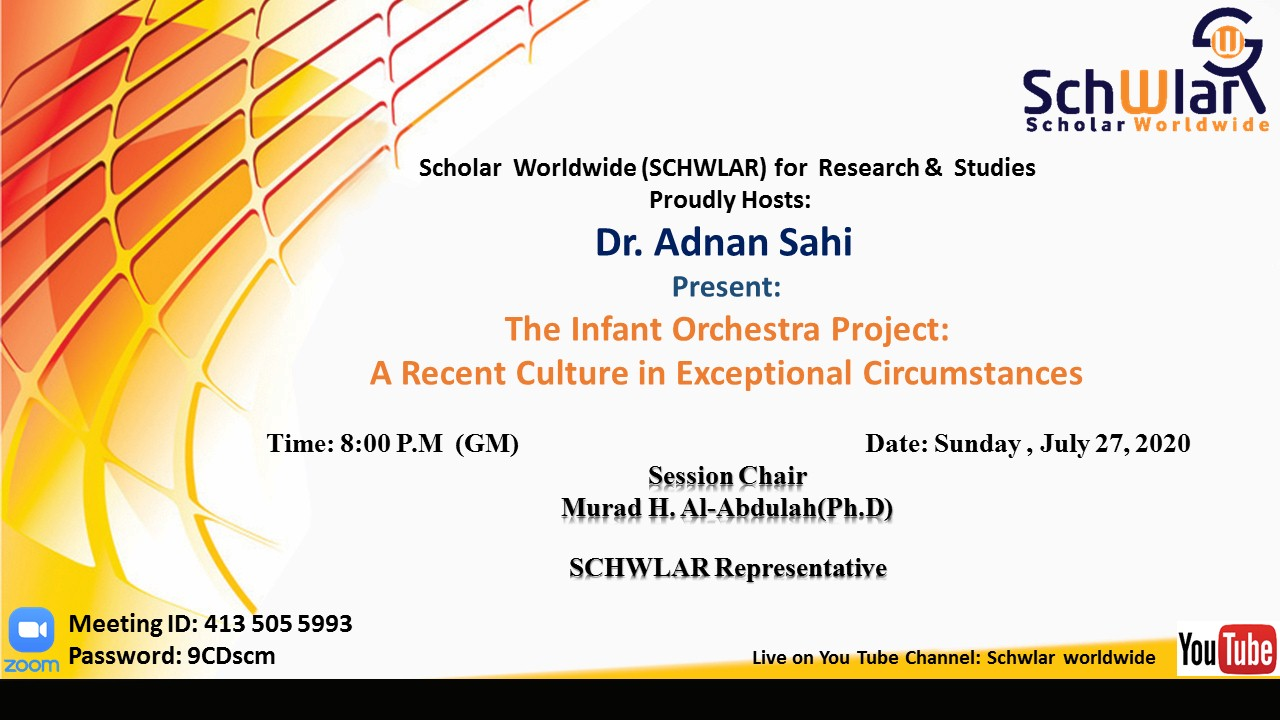 The Infant Orchestra Project:  A Recent Culture in Exceptional Circumstances