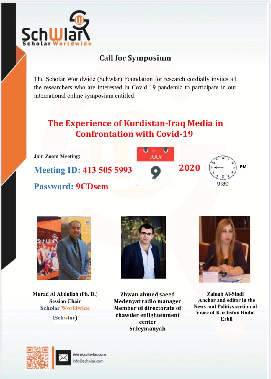 The Experience of Kurdistan-Iraq Media in Confrontation with Covid-19