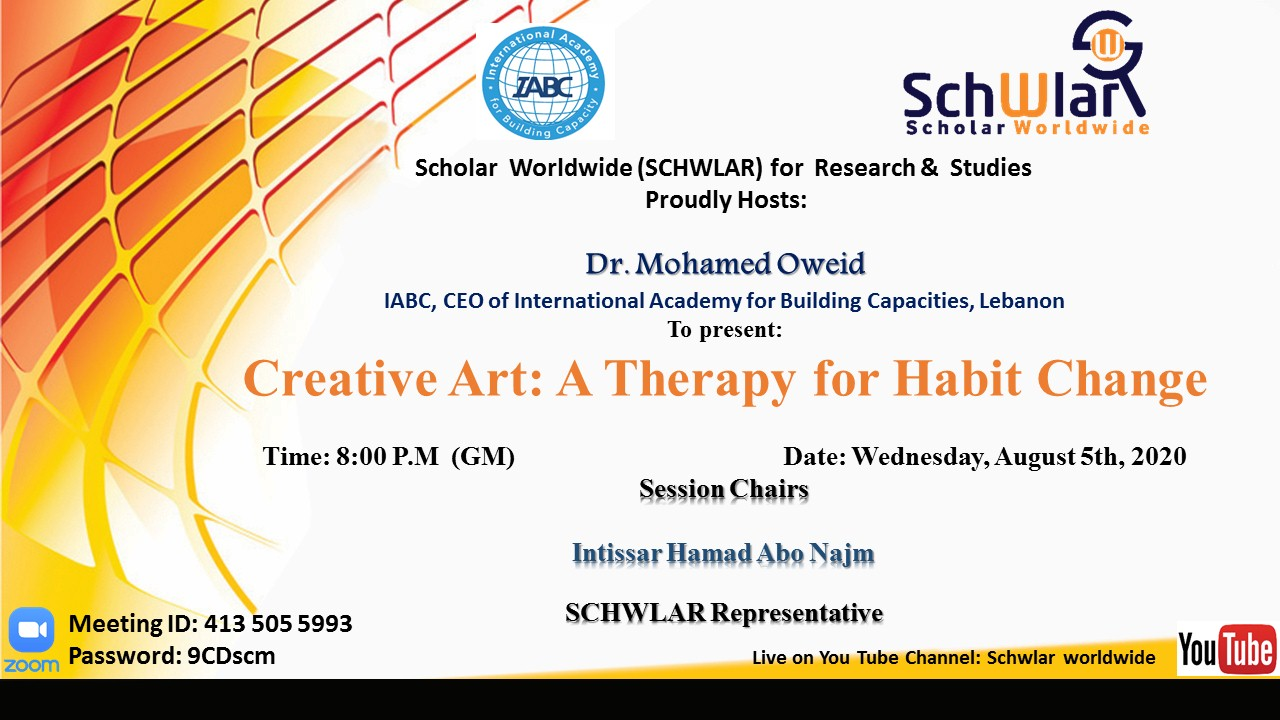 Creative Art: A Therapy for Habit Change