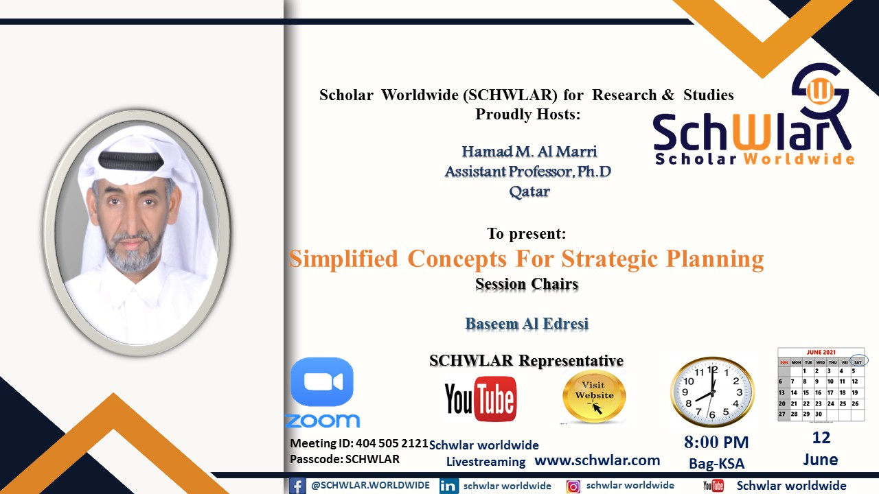 Simplified Concepts For Strategic Planning